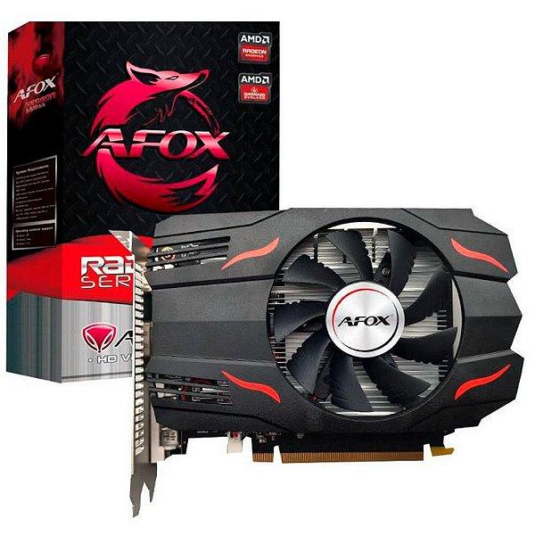 Placa de Vídeo AMD RADEON RX 550 4GB GDDR5 - 128 BITS AFOX  AFRX550-4096D5H3