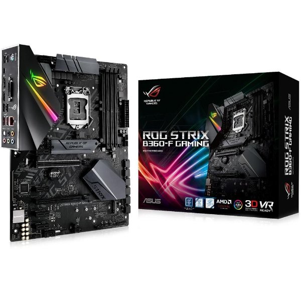 Placa Mãe ASUS ROG STRIX CHIPSET INTEL B360-F GAMING SOCKET LGA 1151