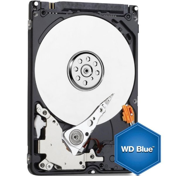 HD Interno P/ Notebook 500GB Sata 6Gbs 5400 Rpm 16MB Western Digital Blue WD5000LPCX
