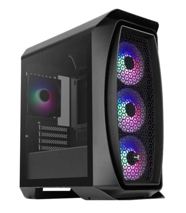 Gabinete Micro ATX Gamer AEROCOOL ONE MINI FROST BLACK RGB