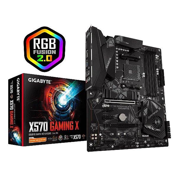 Placa Mãe GIGABYTE CHIPSET AMD X570 GAMING X SOCKET AM4