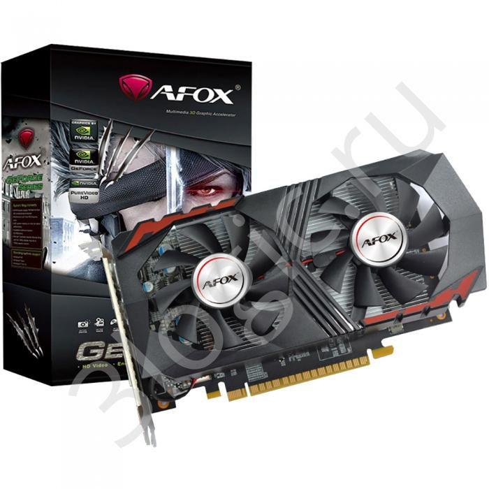 Placa de Vídeo GPU GEFORCE GTX 1050TI 4GB GDDR5 - 128 BITS AFOX - AF1050TT-4096D5H5