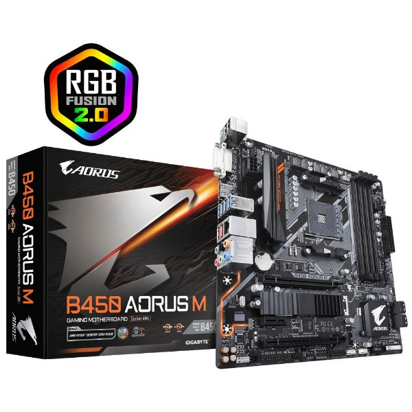 Placa Mãe GIGABYTE CHIPSET AMD B450 AORUS GAMING M SOCKET AM4