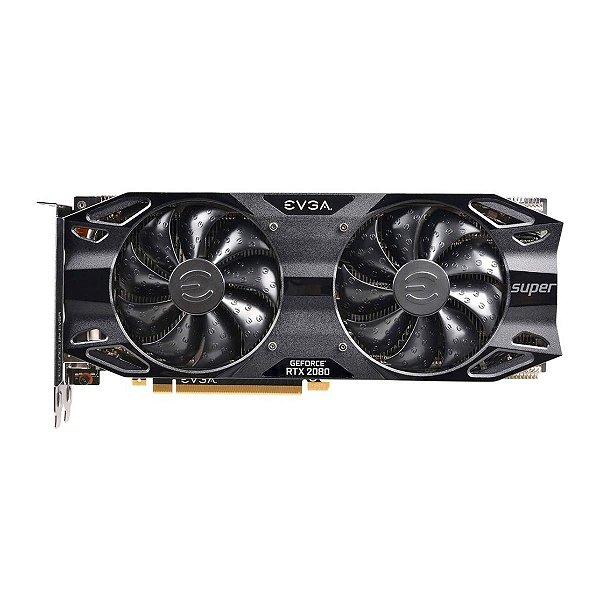 Placa de Vídeo GPU GEFORCE RTX 2080 SUPER 8GB GDDR6 - 256 BITS EVGA - 08G-P4-3081-KR