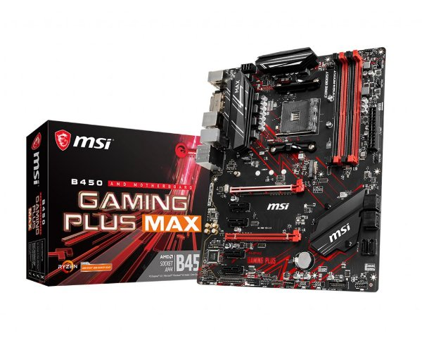 Placa Mãe MSI CHIPSET AMD B450 GAMING PLUS MAX SOCKET AM4