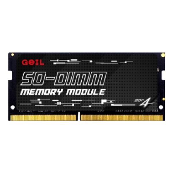 Memória Ram P/ Notebook 8GB DDR4 CL19 2666 Mhz GEIL GS48GB2666C19SC (1X8GB)