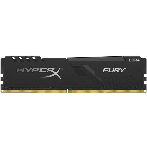 Memória P/ Desktop 16gb DDR4 CL15 - 3000 Mhz Kingston HyperX Fury Black HX430C15FB3/16 (1X16gb)
