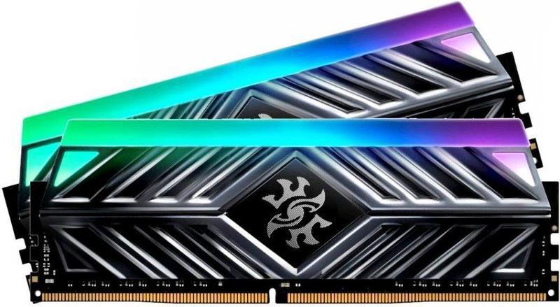 Memória 32GB DDR4 CL16 3000 Mhz ADATA SPECTRIX D41 RGB - AX4U3000716G16A-DT41 (2X16GB)