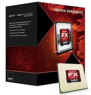Processador AMD FX 6300, Black Edition, Cache 14MB, 3.5GHz (4.1GHz Max Turbo), AM3+ FD6300WMHKBOX