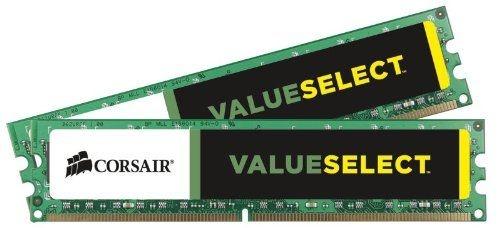 Kit Memória 8gb DDR3 1600 Mhz Corsair Value (2X4gb DualChannel)