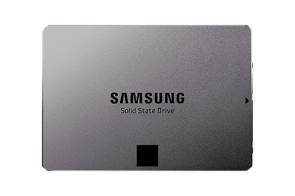 SSD Samsung 850 EVO 2.5´ 1TB SATA III 6Gb/s Leituras: 540MB/s e Gravações: 520MB/s - MZ-75E1T0B/AM