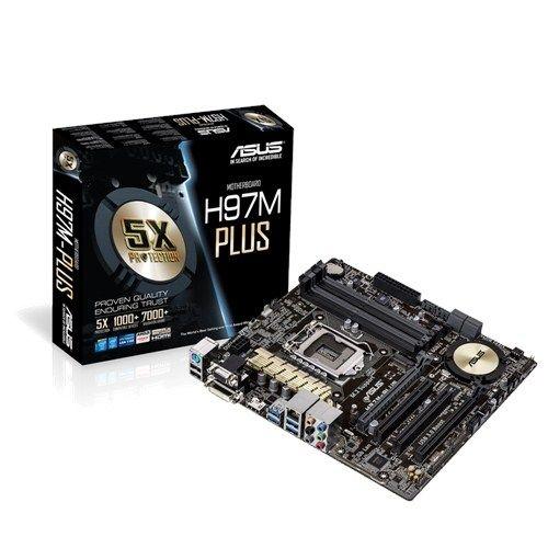 Placa Mãe ASUS H97M-Plus LGA 1150