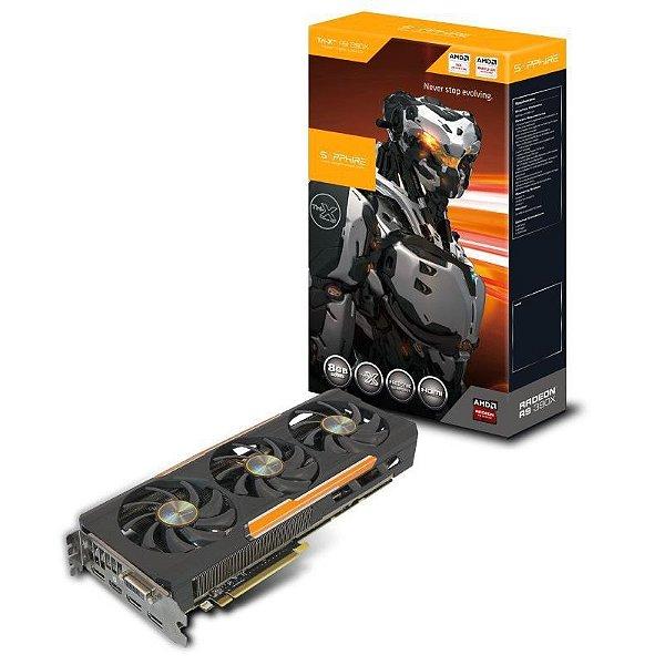 Placa de Vídeo ATI Radeon R9 390X - 8gb DDR5 - 512 Bits TRI-X OC Saphire 11241-00-20G