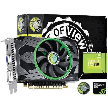 Placa de Vídeo Geforce GTX 650 - 2gb DDR5 - 128 Bits Point of View VGA-650-C1/A1-2048