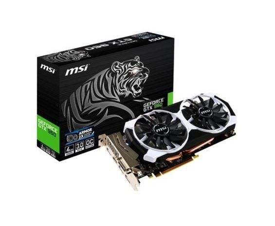 Placa de Vídeo Geforce GTX 960 - 4gb OC DDR5 - 128 Bits MSI