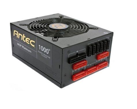 Fonte Antec 1000W HCP Platinum HCP-1000 Full Modular 94% de Eficiência