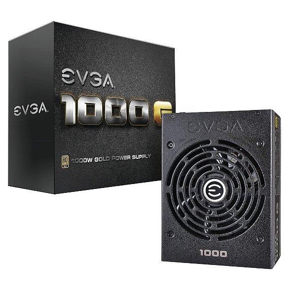 Fonte ATX 1000 Watts Reais EVGA G1 SuperNova 80% Gold 120-G1-1000-VR