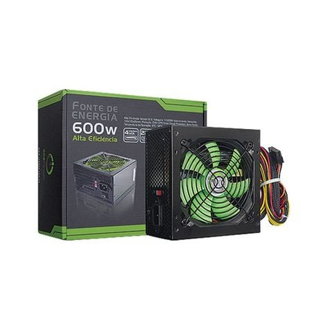 Fonte ATX 600 Watts Potência Real One Power MP600W2 Bivolt