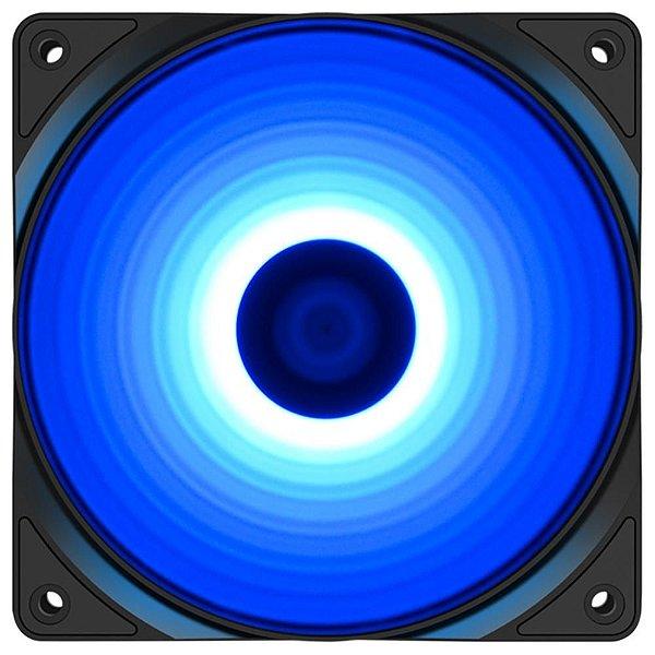 Cooler FAN Deepcool RF120B, 120mm, LED Azul - DP-FLED-RF120-BL