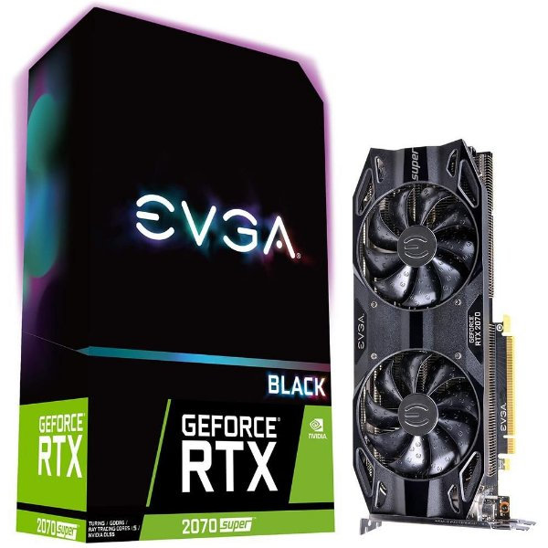 Placa de Vídeo GPU GEFORCE RTX 2070 SUPER 8GB GDDR6 - 256 BITS EVGA 08G-P4-3071-KR
