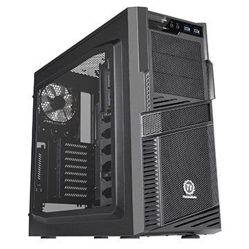 Gabinete Mid Tower Thermaltake Commander G42 Black Windowed