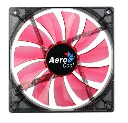 Cooler FAN AeroCool 140x140mm Lightning Red EN51370