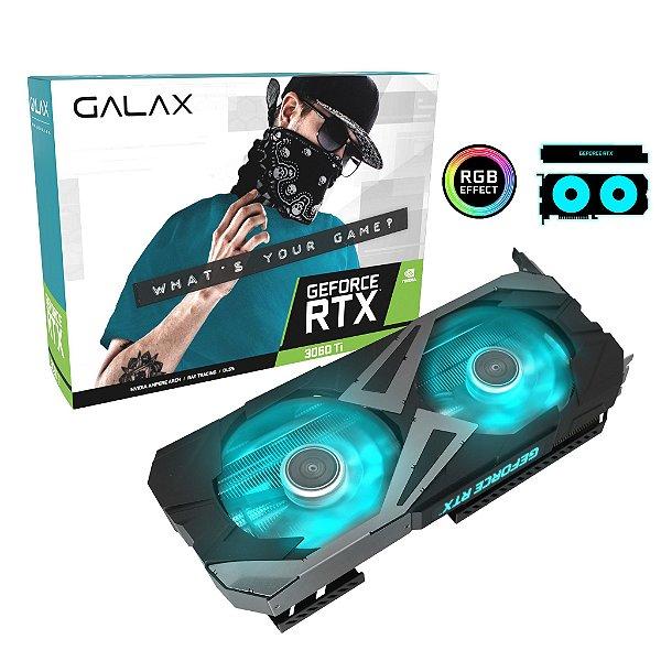 Placa de Vídeo GPU GEFORCE RTX 3060TI EX 8GB GDDR6 - 256 BITS GALAX 36ISL6MD1WGG