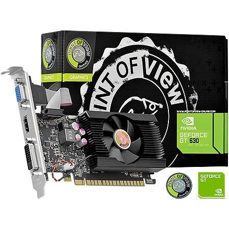 Placa de Vídeo Geforce GT 630 - 4gb DDR3 - 128 Bits Point of View