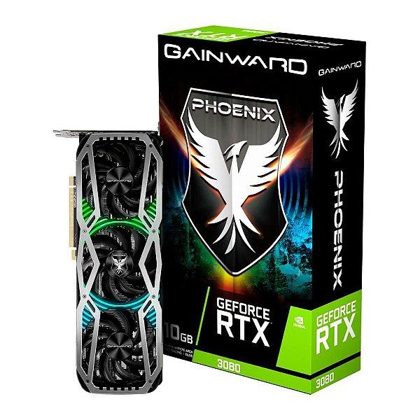 Placa de Vídeo Geforce RTX 3080 OC 10GB GDDR6X 320 Bits GAINWARD - NED3080019IA-132AX