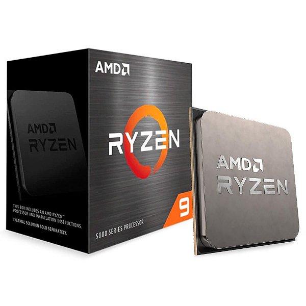 Processador AMD Ryzen 9 5900X 3.7 GHZ (4.8 GHz Max Turbo) C/ 70MB SOCKET AM4 - 100-100000061WOF