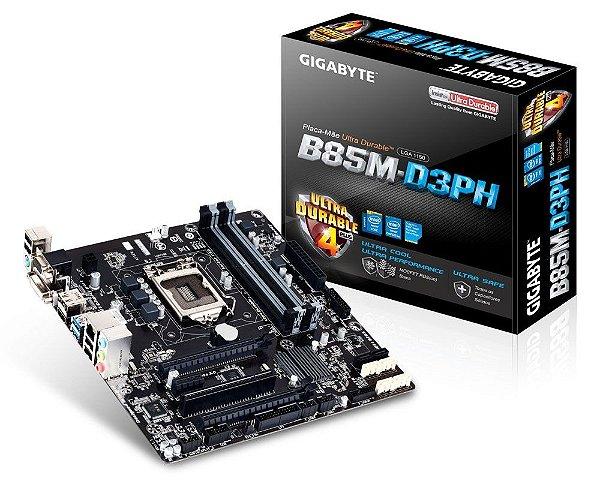 Placa Mãe Gigabyte B85M-D3PH LGA 1150