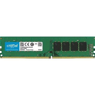 Memória Ram P/ Desktop 16GB DDR4 CL19 2666 Mhz CRUCIAL VALUE - CB16GU2666 (1X16GB)