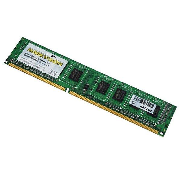 Memória 8gb DDR3 1333 Mhz MarkVision Para Desktop