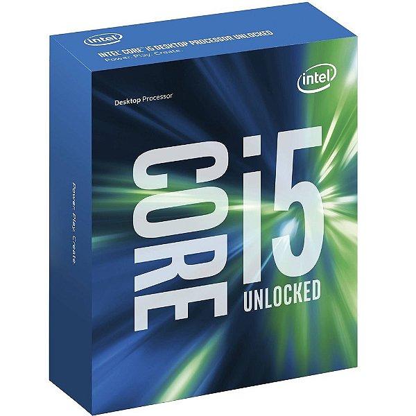 Processador Intel Core i5-6600K, Cache 6MB, Skylake 6a Geração, Quad-Core 3.5GHz LGA 1151 BX80662I56600K