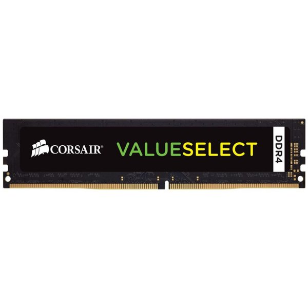 Memória 16gb DDR4 2666 Mhz CL18 Corsair Value Select (1X16gb) - CMV16GX4M1A2666C18