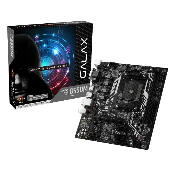Placa Mãe GALAX CHIPSET AMD B550M SOCKET AM4