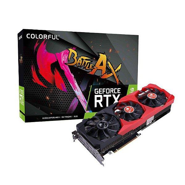 Placa de Vídeo GPU GEFORCE RTX 3070 8GB GDDR6 - 256 BITS COLORFUL NB-V