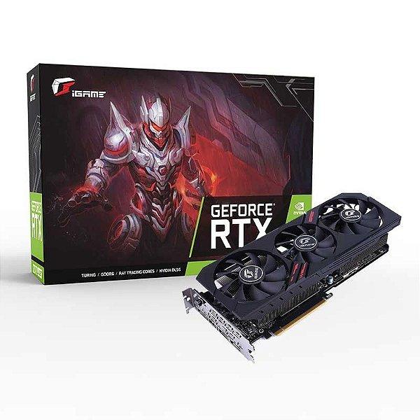 Placa de Vídeo GPU GEFORCE RTX 2060 SUPER ULTRA 8GB GDDR6 - 256 BITS IGAME G-I2060S UL-V