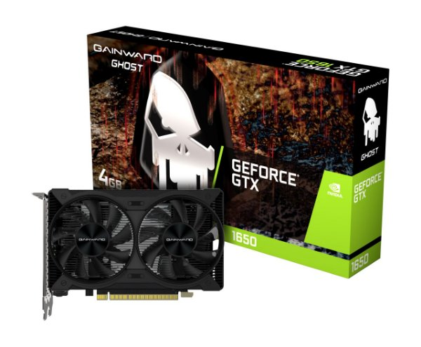 Placa de Vídeo GPU NVIDIA GEFORCE GTX 1650 GHOST 4GB GDDR5 - 128 BITS GAINWARD - NE6165001BG1-1175D
