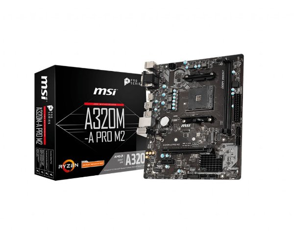 Placa Mãe MSI CHIPSET AMD A320M-A PRO M2 SOCKET AM4