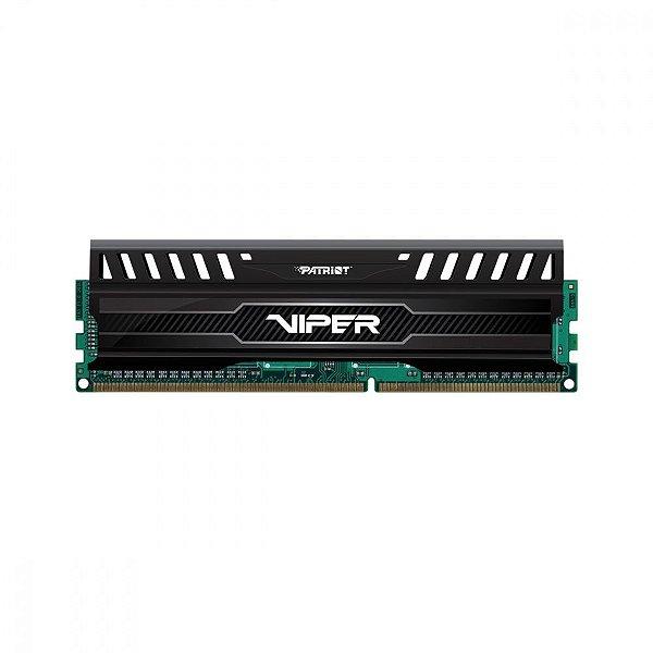 Memória P/ Desktop 8GB DDR3 CL10 1600 Mhz PATRIOT VIPER - PE000260-PV38G160C0 (1X8GB)