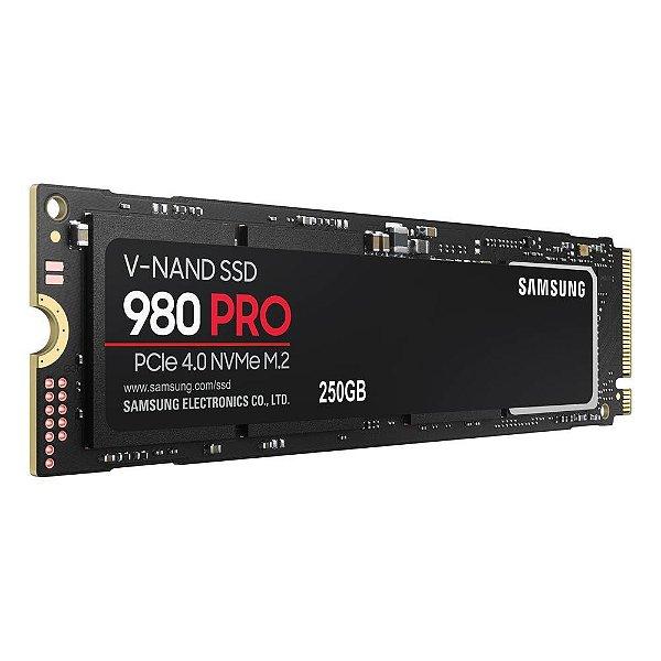 SSD M.2 250GB NVME PCI-e 4.0 X4 SAMSUNG 980 PRO MZ-V8P250