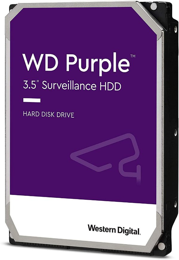 HD INTERNO Western Digital Purple Surveillance, 6TB, 3.5´, SATA - WD60PURZ