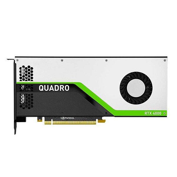Placa de Vídeo Profissional NVIDIA QUADRO RTX 4000 - 8GB GDDR6 - 256 Bits PNY VCQRTX4000-PB