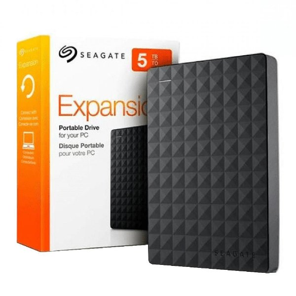 HD Externo Seagate Portátil Expansion, 5TB, USB - STEA5000402