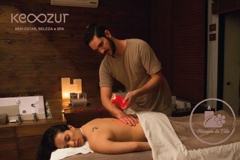 Massagem com Velas - Candle Massage