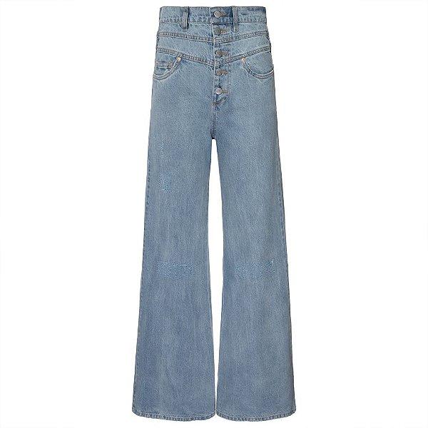 Calça 3 Cós Jeans