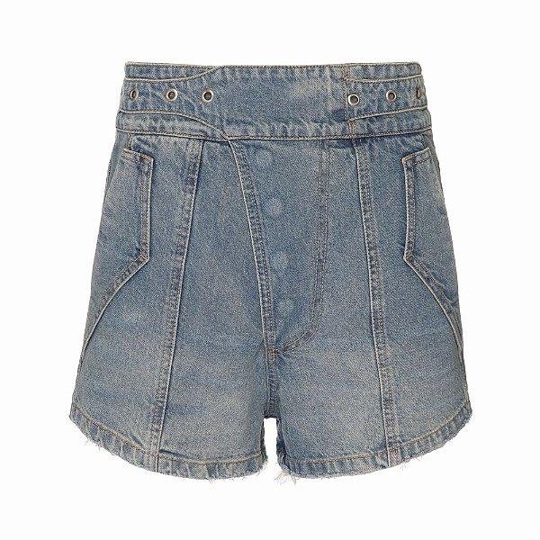 Shorts Botões Marcados