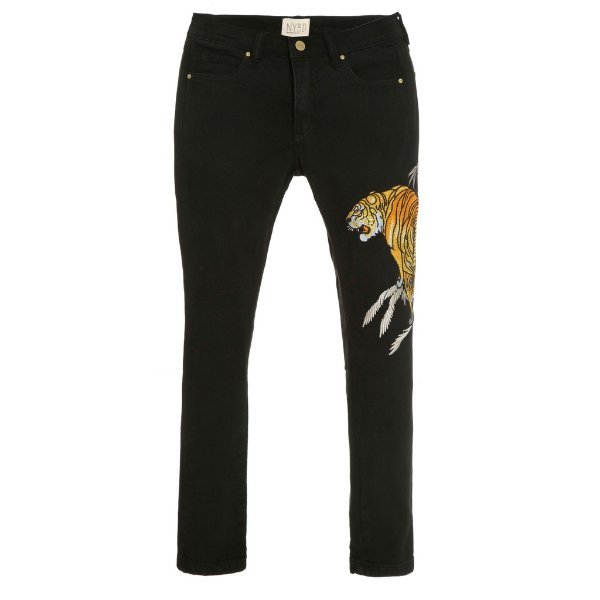 Calça Skinny Tigre Black