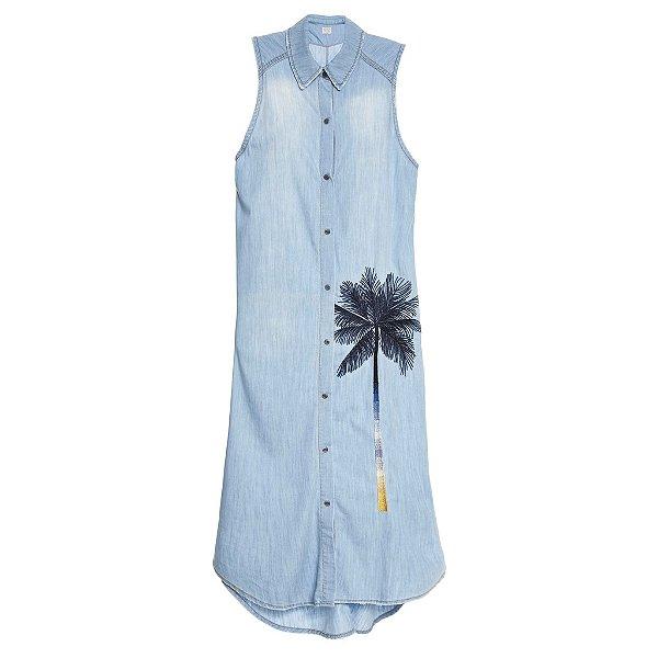 Vestido Chemise Coqueiro